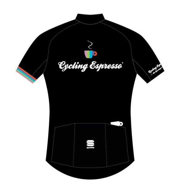 Sportful Wielershirt Cycling Espresso 2018-19 - Achter